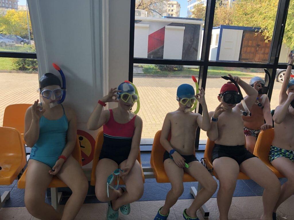 Urodzinowa impreza na basenie nurkowanie Warszawa